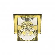 Светильник точечный Feron JD55  JCD9 35W прозрачный желтый