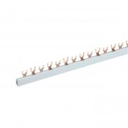Шина соединительная FORK (вилка) 2Р 63А длина 1м ИЭК
