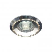 Светильник точечный  Feron MR-16 G5.3 50W алюминий золото