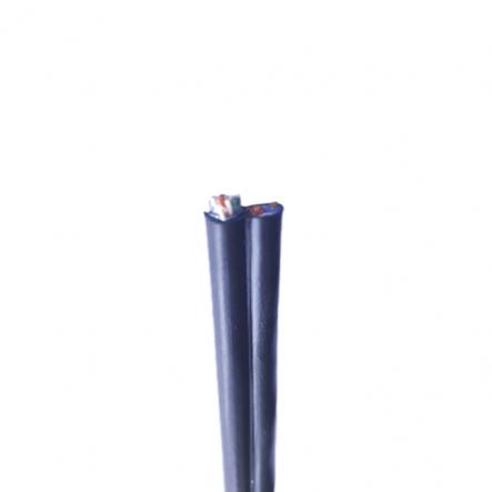 ITK Кабель комбинированный F/UTP, кат.5E 4х2х0,51мм solid, каб. питания 2х0,75мм, LDPE, 305м, черный - 1