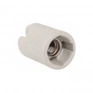Патрон подвесной керамический Е14 индивид. пакет