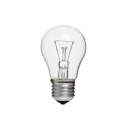 Лампа PHILIPS GLS A55 E27 75W прозрачная
