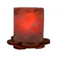 Светильник соляной Рассвет на можжевельнике 1,5кг 140*140*160