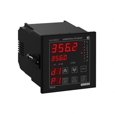 Измеритель-регулятор многофункциональный восьмиканальный ОВЕН ТРМ138-Р [М01] - 1