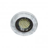Светильник точечный  Feron  4411  MR-16 50W серебро