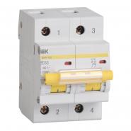 Автоматический выключатель IEK ВА47-100 2p 80A С