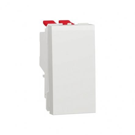 Выключатель одноклавишный перекрестный Schneider Electric NU310518, 10А 1М (белый) - 1