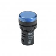 Светосигнальный индикатор IEK AD22DS (LED) матрица d22мм синий 12В AC/DC