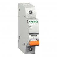 Автоматический  выключатель Schneider Electric Домовой ВА 63 1п 10А 11202