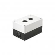 Корпус КП 102 для кнопок 2места белый ИЕК