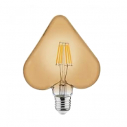 Лампа Filament Серце 6W Е27 2200К/40