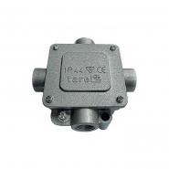 Коробка монтажная металлическая IP-44 P21/4 380v ЕNEXT