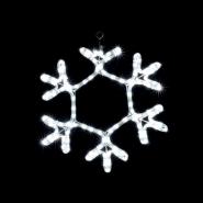 Снежинка MOTIF Snowflake 40см белая IP44