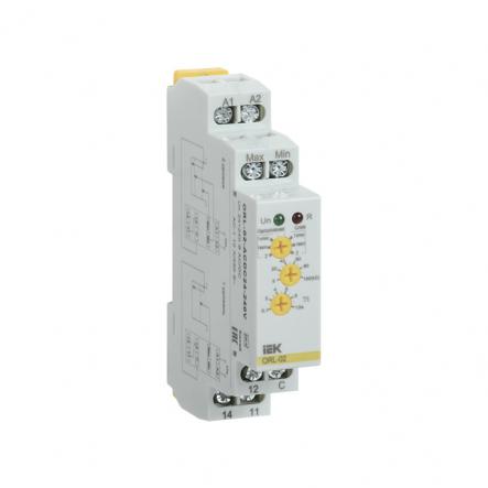 Реле контроля уровня жидкости IEK ORL-02 24-240В AC/DC ORL-02-ACDC24-240V - 1