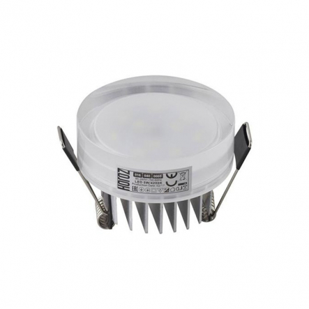 Светильник встраеваемый SMD Led 5W бел. 4200K 400Lm 016-040-0005-030 - 1