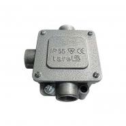 Коробка монтажная металлическая Р13/3,ІР 55,400В,5*4 ЕNEXT