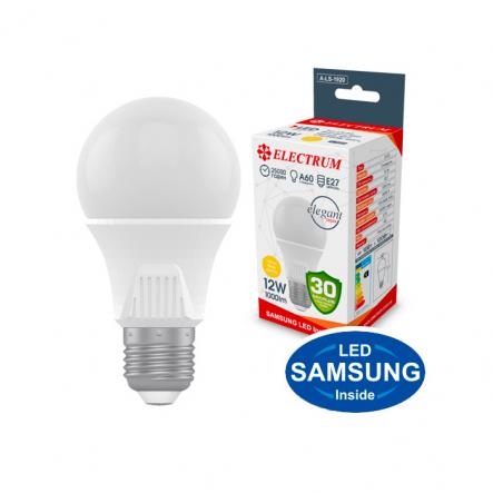 Лампа LED A60 12W PA LS-33 Elegant Е27 3000 Electrum - 1