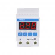 Терморегулятор TESSLA  на DIN-рейку для систем снеготаяния 32 А, 7кВТ DTS