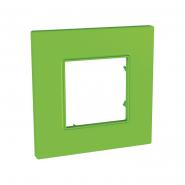 Рамка 1-местная Bio UNIKA QUADRO зеленый