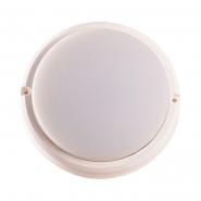 Светильник светодиодный UL319 12W IP54 4000К 840Лм 195*45mm круг белый