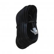 Телефонный кабель TC6P4C-5M-BK, 6P4C, 5 м