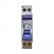 Автоматический выключатель АСКО-УКРЕМ ВА-2002 1+N 2р C 16А