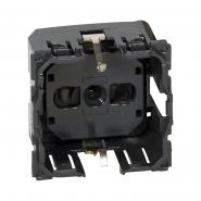 Celiane Розетка электрическая 2К+З (16А, 250В~, винтовые клемы, немецкий стандарт)