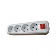 Кассета 4гн (2P+PE+выкл.) КП-3-В-04 АСКО