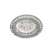 Светильник точечный Feron DL100-C прозрачный/хром