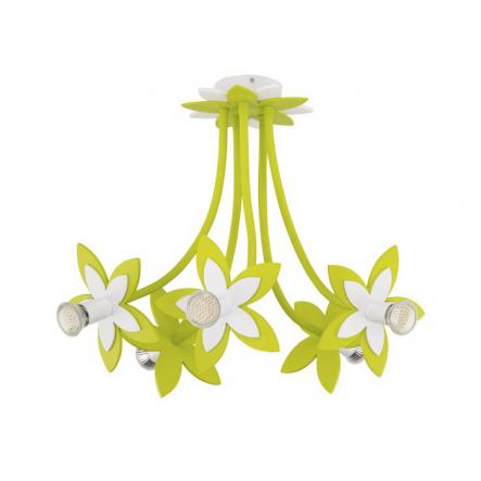 Люстра Nowodvorski FLOWERS GREEN 6901 - 1