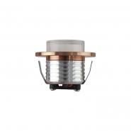 Светильник встраеваемый HOROZ  СОВ Led 3W 4200K медь d-47мм 125Lm 016-042-0003-030