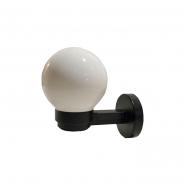 Светильник настенный шар опал гладкий Е-27, 920 25W 247*200*271mm АСКО