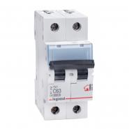 Автоматический выключатель Legrand TX3 63А 2Р 6кА тип С 404048