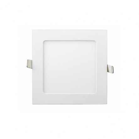 Светильник LED квадратный встраиваемый 9Вт 4200К, Lezard - 1