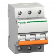 Автоматический  выключатель Schneider Electric  ВА 63 3п 10А 11222