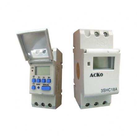 Таймер недельный электронный АСКО-УКРЕМ 3SHC18A - 1