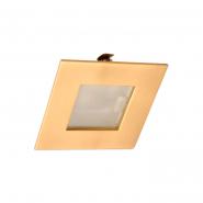 Светильник мебельный М-60А латунь