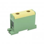 Клемма вводная силовая КВС 35-150 кв.мм. PE жёлто-зелён. IEK