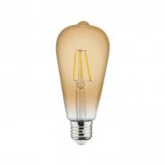Лампа Filament A60 6W Е27 2200К/100 RusticVintage-6