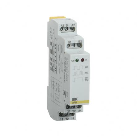 Импульсное реле IEK ORM. 2 конт. 230 В AC ORM-02-AC230 - 1