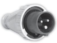 Вилка IVG (IP 67), 32A, 400V 4n SEZ - 1