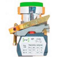 Выключатель кнопочный ВК-021НЦВ3 13 зеленый (толкатель выпуклый)IP66 Промфактор - 1