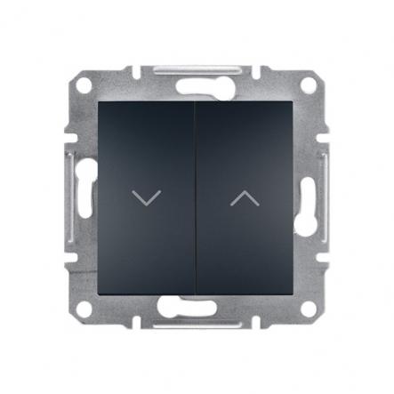 Выключатель для жалюзи антрацит Schneider Electric ASFORA - 1