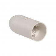 Патрон подвесной пластик Е14 белый индивид. пакет