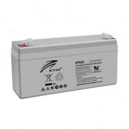 Аккумуляторная батарея AGM RITAR RT632.Gray Case.6V 3.2Ah (134x35x60) Q20