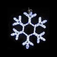 Снежинка MOTIF Snowflake 40см синяя IP44