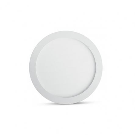 Светодиодный светильник Feron 6W круг белый 480 Lm 2700K 120*13mm d100mm - 1