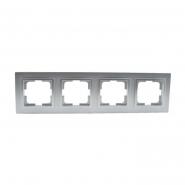 Рамка 4-я , Mono Electric, DESPINA (серебро)