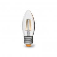 Лампа LED VIDEX Filament C37F 4W E27 4100K 220V