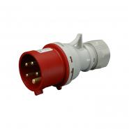Вилка промышленная IVN (IP 44), 32A, 400V, 5n SEZ